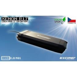 Baterie pro elektrokolo nosičová XENON R17 – Votani  17,4Ah
