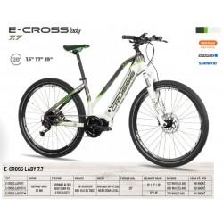 Krosové elektrokolo Crussis e-Cross lady 7.7 (2022) – rám...