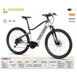 Krosové elektrokolo Crussis e-Cross 7.7 (2022) – rám 18″...