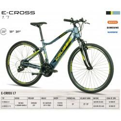 Krosové elektrokolo Crussis e-Cross 1.7 (2022) – rám 18″...