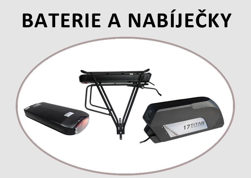 Baterie a nabíječky